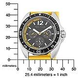 Nautica Unisex N09906G Sport Ring Multifunction Yellow Box Set Watch