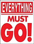 Everything Must Go - Standard Poster - 22