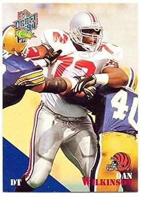 Dan Wilkinson 1994 Classic #13 - Cincinnati Bengals, Rookie