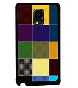 PRINTVISA The Embarasing Girl Premium Metallic Insert Back Case Cover for Samsung Galaxy Note Edge - D6055
