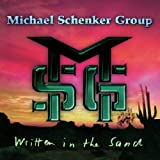 echange, troc Michael schenker group - Written in the sand