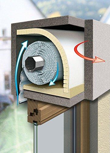 Schellenberg 66252 isolamento per cassonetti di - Isolamento cassonetti finestre ...