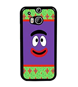 PrintDhaba Cartoon D-3311 Back Case Cover for HTC ONE M8 (Multi-Coloured)
