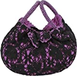 Miruna Designs Women's Handbag Purple Miruna_LacBangle_Purp