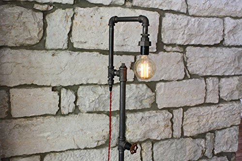 Edison Bulb Floor Lamp - Industrial Style Floor Lamp 2