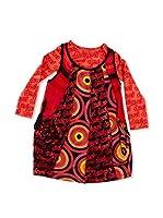 Desigual Vestido Leticia Rep (Teja)
