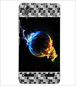 PrintDhaba Quote D-4633 Back Case Cover for LENOVO A6000 (Multi-Coloured)