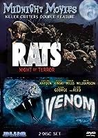 Midnight Movies Vol 10 Killer Critters Double Feature Rats Night Of Terrorvenom from Blue Underground