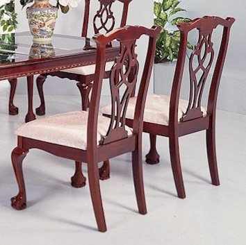 Chippendale Side Chair 40′′H (Set of 2) by Crown Mark (Chippendale Side Chair compare prices)