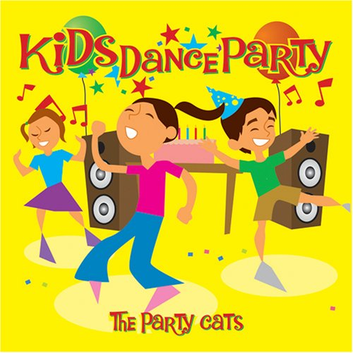 Kids dance party cd covers for 1234 lets on the dance floor