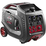 Briggs & Stratton 30545 PowerSmart Series Portable 3000-Watt Inverter Generator with (4) 120-Volt AC Outlets and (1) 12-Volt DC Outlet