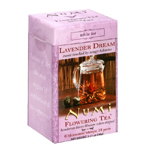 Buy Numi Tea Lavender Dream White Tea, Lavender, Hibiscus, 1.27 Ounce Units (Pack of 3) (Numi Organic Tea, Health & Personal Care, Products, Food & Snacks, Beverages, Tea, White Teas)