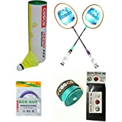 Cosco CB 120 Combo Badminton Kit With FREE SPORTSHOUSE WRIST BAND