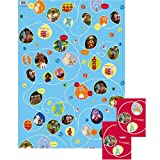 In The Night Garden - Giftwrap (2 sheets folded) and tags (2)