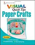 img - for Paper Crafts VISUAL Quick Tips book / textbook / text book
