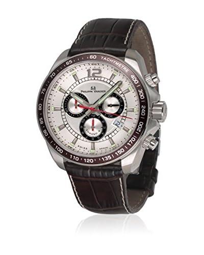 PHILIPPE VANDIER Reloj con movimiento cuarzo suizo 77011  42 mm