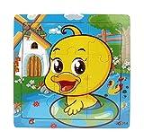Ularma Lindo Juguetes de madera de los cabritos Jigsaw para la educaci�n de los ni�os y Puzzles juguetes de aprendizaje (multicolor11)