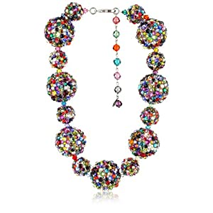 "TARINA TARANTINO ""Jubilee"" Crystallized Jumbo Ball Necklace"