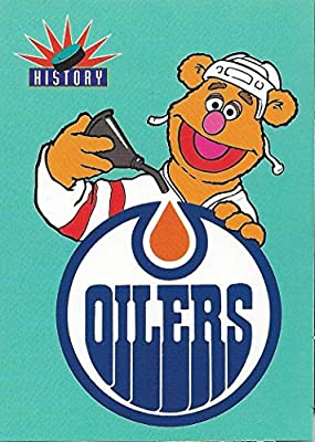 1994 Muppets take The Ice #60 Edmonton Oilers Hockey NHL 02445