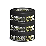 Elegance Transparent Pomade Hair Wax 3 Pack
