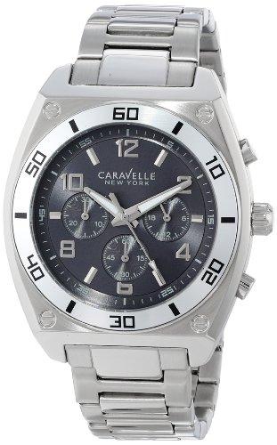 Caravelle New York Men's 43A120 Analog Display Japanese Quartz White Dress Watch