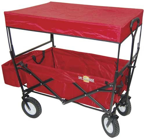 Best Value Red Folding Utility Wagon With Handle