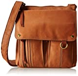 Fossil Morgan Traveler Cross Body Bag, Saddle, One Size