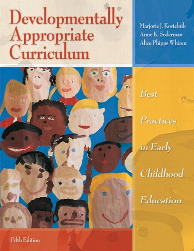 Developmentally Appropriate Curriculum: Best Practices in Early Childhood Education (5