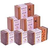 Khadi Mauri Honey & Almond Soaps Triple Pack Of 6 Ayurvedic Herbal Natural
