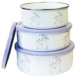 Corelle Coordinates Shadow Iris 6-Piece Small Bowl Set