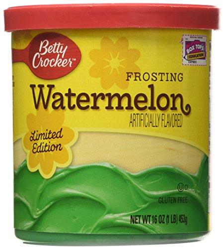 Betty Crocker Watermelon Frosting 16 oz (Watermelon Cake Mix compare prices)