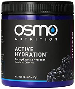 OSMO Nutrition Active Hydration Mix for Men, Blackberry, 14.1 Ounce