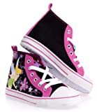 Character Shoes Tinkerbell Hi Top Casual Canvas Low Youth
