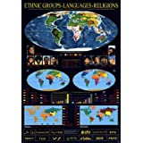 Ethnic Groups, Languages, Religions Wall Poster