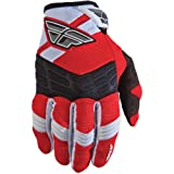365-51207 - Fly Racing 2012 Youth F-16 Motocross Gloves XS (7) Red/White