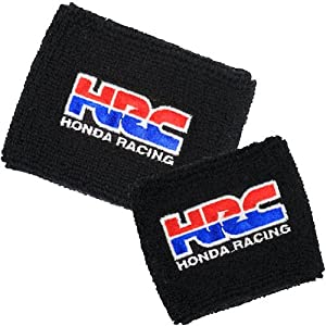 HRC Honda Racing Brake/Clutch Reservoir Sock Cover Set Available in Black, Orange and Red CBR, 600, 1000, 600RR, 1000RR, 954, 929, RC51