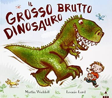 Il grosso brutto dinosauro Book Cover