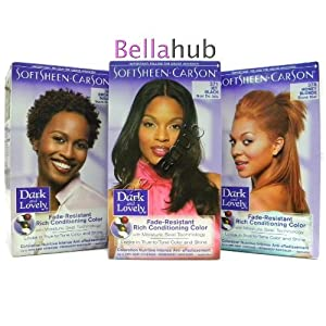 Softsheen Carson Dark and Lovely Permanent Hair Colors, Sunkissed Brown