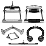 yes4all tricep v shaped press down bar closed handle cable attachments