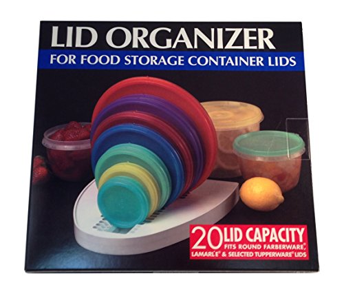 Lid Organizer For Food Storage Container Lids Home Garden
