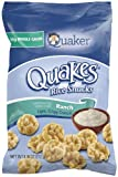 Quaker, Quakes Rice Snacks, Ranch, oz. (Pack of 4) 6.06