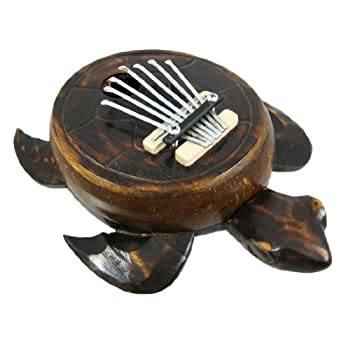 Set A Shopping Price Drop Alert For Turtle Shaped Karimba Mbira Thumb Piano Kalimba Finger
