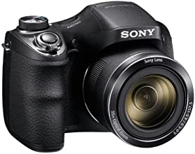 Sony DSC-H300/BM - 20.1MP High Zoom Point and Shoot Camera 35x Zoom - Black (Certified Refurbished)