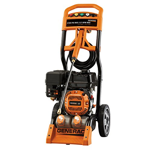 Generac 6598 3 100 psi 2 7 gpm 212cc ohv gas powered - Turn garden hose into pressure washer ...