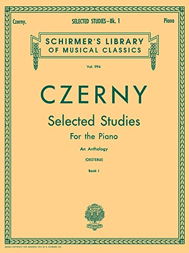 Selected Studies, Book 1 Upper Elementary and Lower Middle Grades Schirmer Library of Classics Volume 994 Piano Technique (Tapa Blanda)