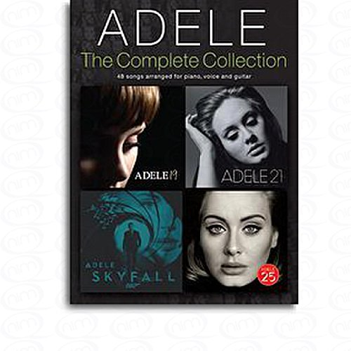 the-complete-collection-arranges-pour-songbook-notes-sheetm-usic-compositeur-adele
