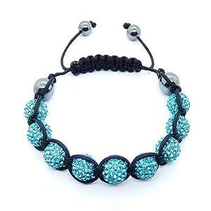 Shamballa Crystal Unisex Bracelet