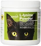 Tomlyn Scientifics L-Lysine Health Supplement Powder for Cats, 100gm