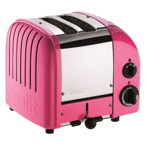 Dualit 2 Slice Classic Toaster, Chilly Pink