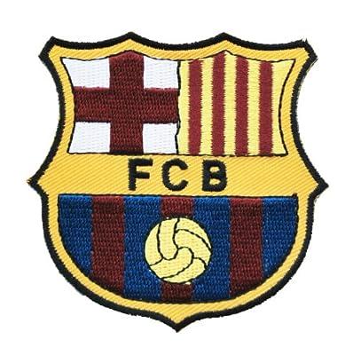 F.c Barcelona Soccer Shield Patch